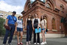 """Участники проекта на экскурсии """"Конфессии Оренбурга"""""""