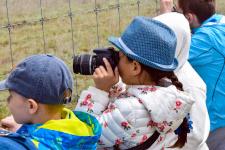 Дети в погоне за кадром