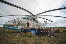 Алсиб, экспедиционная группа РГО и Министерства обороны. Фото: Александр Бормотин