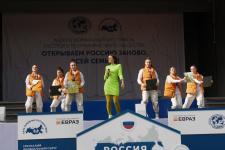 12 сентября 2021 года в Парке Маяковского состоялось масштабное открытие первого Межрегионального фестиваля Русского географического общества «Открываем Россию заново. Всей семьей!»