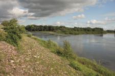 Река Урал y Маячной горы. Фото А. Чибилёва