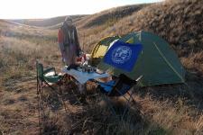 Палатка экспедиции