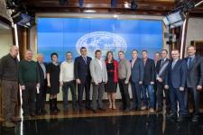 Члены Правления Ассоциации директоров заповедников и национальных парков