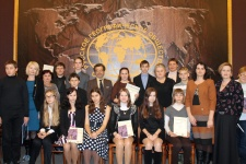 "The laureates and winners of the ""Great travelers of St. Petersburg"" Contest"