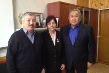 Встреча актива Отделения РГО в Республике Саха (Якутия) с профессором Верой Владимировной Фефеловой