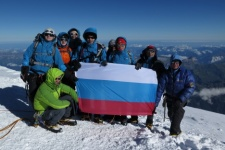 Entrepreneurs will unfurl a Russian flag at the peak of Mount Vinson