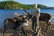 Chairman of the Board of Trustees of the Russian Geographical Society, President of the Russian Federation Vladimir Putin