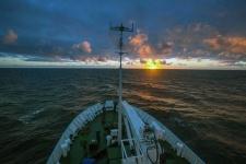 День первый. Закат в Белом море
