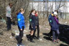 Молодежный экологический патруль за работой