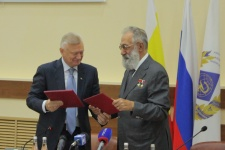 Олег Ковалёв и Артур Чилингаров. Фото предоставлено Рязанским областным отделени