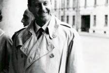 Thor Heyerdahl during his first visit to Leningrad in 1961