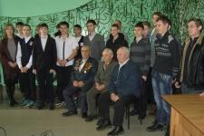 Участники игры ''На службе Отечеству''