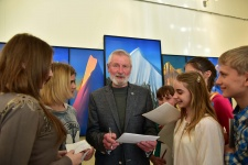 Открытие художественной выставки Сергея Дудко