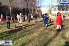 Новый школьный сквер разбили в Краснодаре