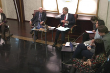 Пресс-конференция Дмитрия Пескова
