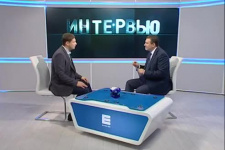 """Интервью телеканалу """"Енисей"""""""