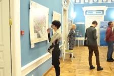 Выставка уникальных географических карт