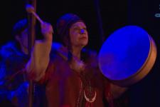 Спектакль «Юконский ворон» показали землякам Лаврентия Загоскина