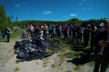 """Дайв-центр """"Тритон"""" проводит акцию в Международный день очистки водоемов"""