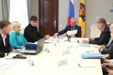 Губернатор встретился с руководством Пензенского областного отделения РГО