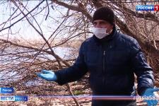 Экологический рейд по берегу Суры выявил нарушения