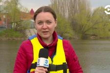Активисты «Зеленой волны» провели водный рейд по Суре