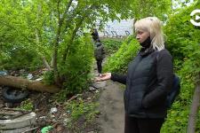 Проведен экологический рейд по улице Воронова