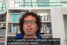 Congratulations from the Association of Italian Geographers