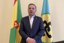 Посол Гренады в России Олег Фирер поздравил Краснодарское региональное отделение