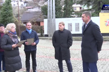 Сквер Русского географического общества заложили в Туапсе