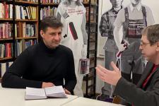 О перспективах сотрудничества Литературной газеты и РГО (Интервью И.В. Пантюшова)