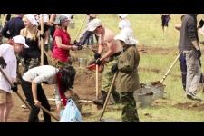 Археолого-географическая экспедиция Кызыл-Курагино - 2014 (ВИДЕО)