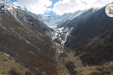 Будущий Казбекско-Джимарайский геопарк с высоты птичьего полёта