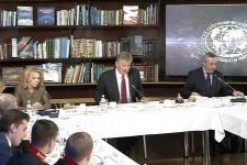 Заседание Медиаклуба Русского географического общества (14 ноября 2016 года)