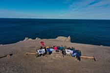 Фото предоставлено участниками Комплексной экспедиции Северного флота и РГО на архипелаги Арктики