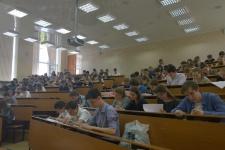 Географическая диктант для школьников. Фото предоставлено Владимирским областным отделением РГО