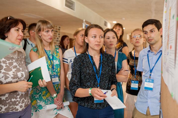 Одна из победителей конкурса проектов Летней школы Наталья Красноштанова