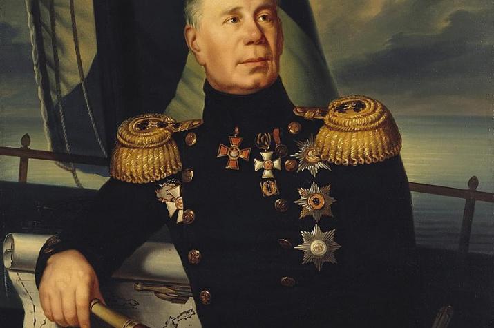 Портрет адмирала Ивана Федоровича Крузенштерна (1770-1846), неизвестный художник, XIX в., wikipedia.org