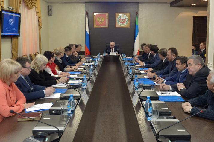 Заседание Попечительского совета Хакасского отделения Русского географического общества