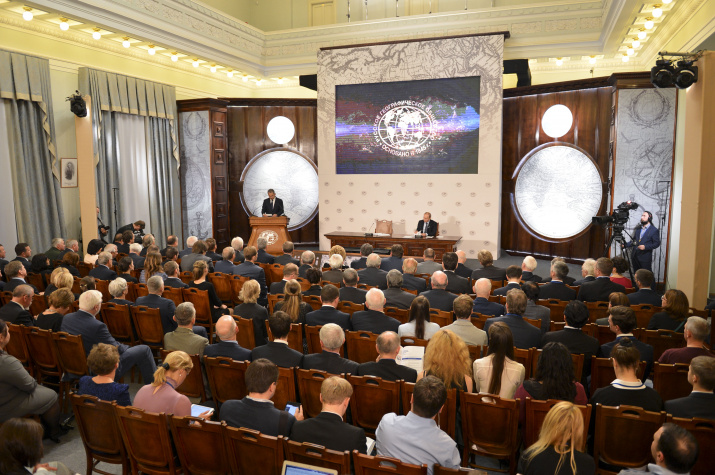 Заседание Попечительского Совета РГО 2016. Фото: Николай Разуваев