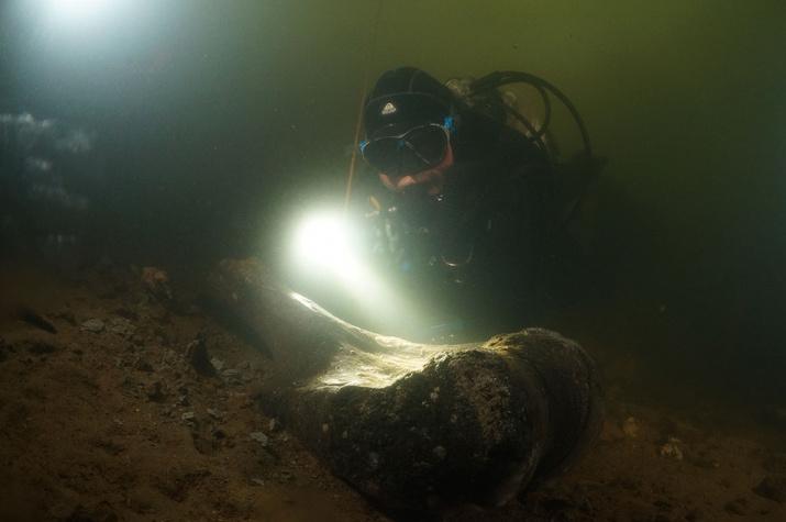 В поисках останков древних животных