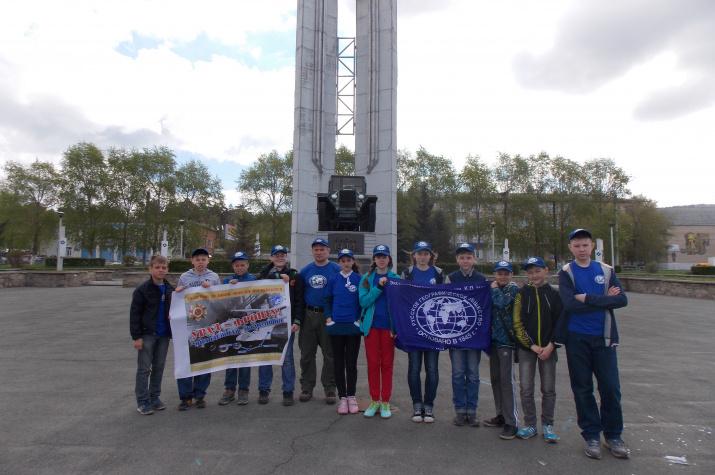 Участники второго этапа молодежной экспедиции ''Урал – фронту!''