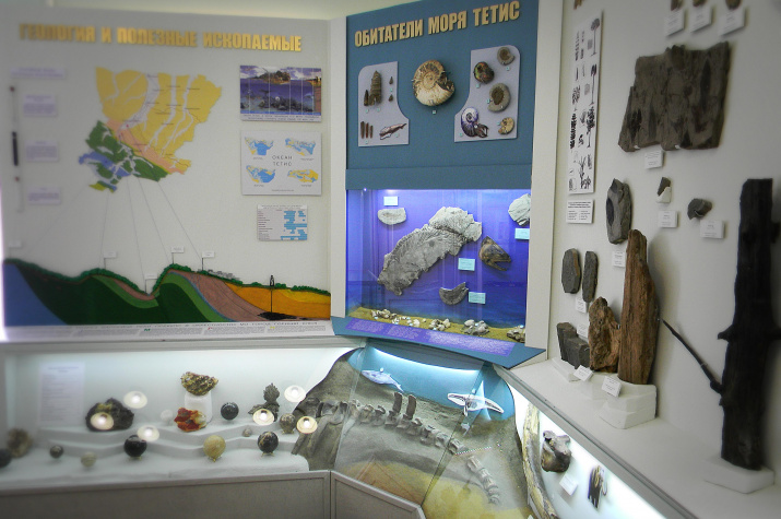 Геологическая экспозиция