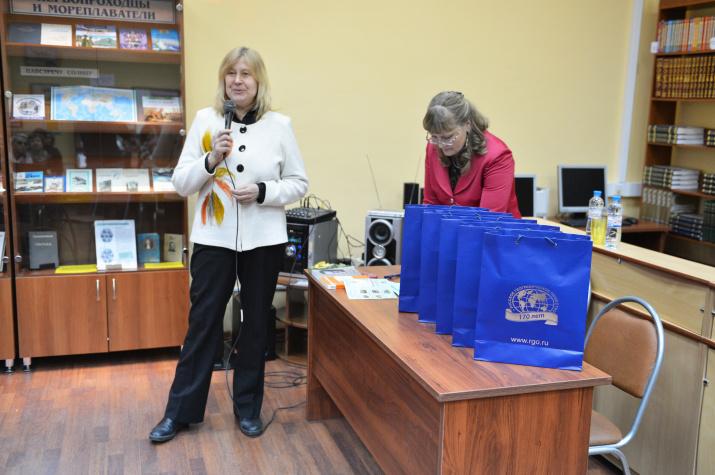 Юлия Овчинникова - директор Централизованной библиотечной системы Восточного административного округа Москвы
