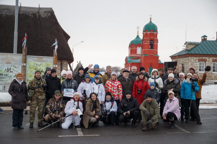 бердинг-ралли Зимняк Куликово поле