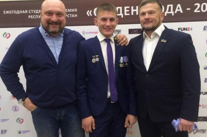 В номинации «Спортсмен года» стал победителем Валера Салеев!