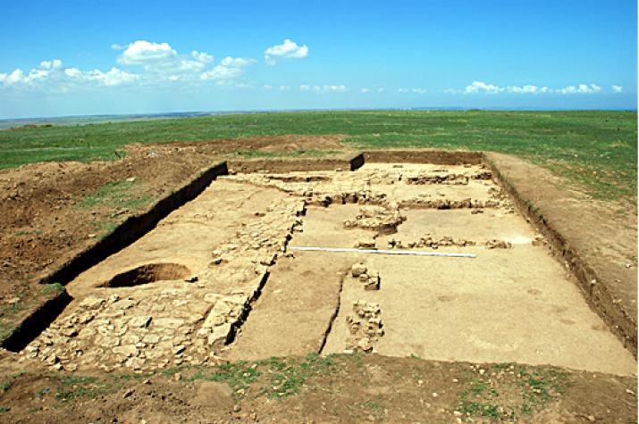 Раскоп в Акре. Фото предоставлено организаторами экспедиции