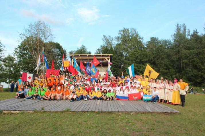 Всероссийский слет юных туристов-краеведов. Фото предоставлено организаторами слета
