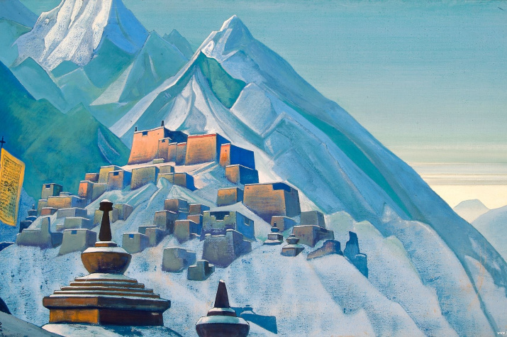Тибет. Гималаи. Николай Рерих, 1933
