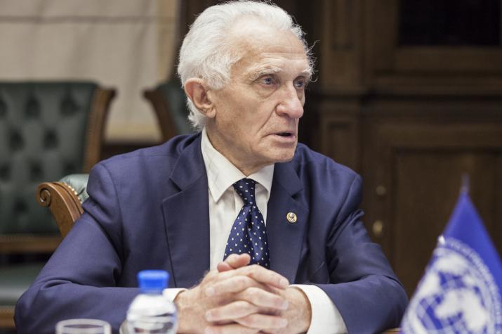 Почетный Президент Общества, Председатель Комиссии по развитию туризма Владимир Михайлович Котляков